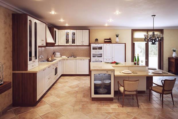 เพิ่มสีสรรให้กับห้องครัว