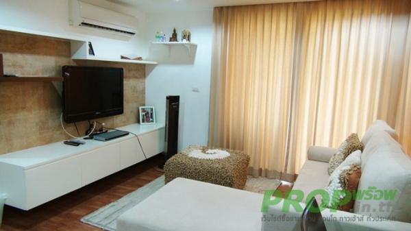 คอนโด ขาย คอนโด The Kris รัชดา 17 แต่งพร้อมอยู่ 2 ห้องนอน ใกล้ MRT สุทธิสาร