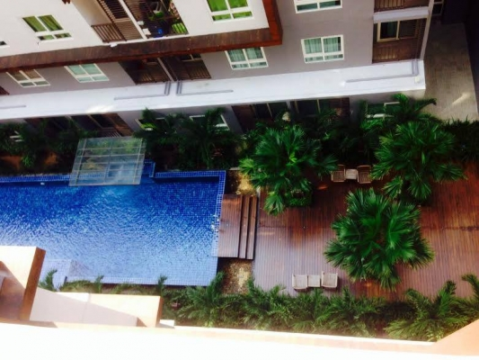 The Trust condo for rent at Central Pattaya