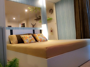 ขายลาเมซองคอนโด ลาดพร้าวซ.1 แต่งใหม่ 1 นอน 34 sq.m ฟรีเฟอร์ใหม่ทั้งห้อง กู้เกินร้อย