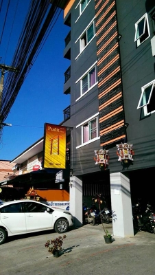 ขายอพาร์ตเม้น 5ชั้น 63 ห้อง อยู่ใจกลางเมืองเชียงใหม่ สามารถทำเป็น Boutique Hotel ได้
