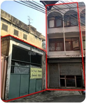 ขายอาคารพาณิชย์ 1คูหา+ที่จอดรถ ลาดพร้าว 52 *** ถูกที่สุด ***