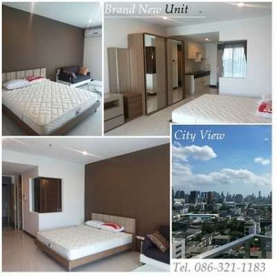 Rent sell brand new units Supalai Premier Bangkok near BTS Ratchathewi (1 Bed) 64 Sqm.18th floor. Fully furnished .Price for rent sale 6.5 M Bath. Call 086-3211183,082-6414199