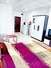 ให้เช่าคอนโดพัทยาห้องมุมชั้นบน เงียบปลอดภัยพร้อมฟรีเคเบิ้ลส่วนกลาง Pattaya Condo for Rent