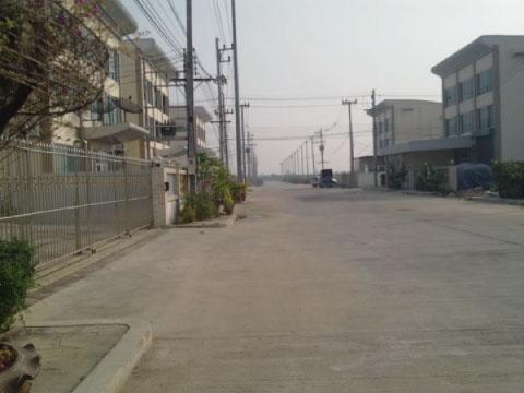 โรงงานสร้างใหม่ มินิแฟคตอรี่ใหม่ เขตอุตสาหกรรม บนถนนพระราม2