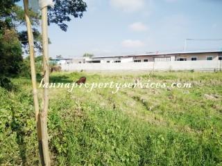 ที่ดินเหมาะสำหรับปลูกบ้าน ตำบลสันนาเม็งอำเภอสันทรายเชียงใหม่ Land for sale at Sannameng Sub district Sansai district Chiangmai.