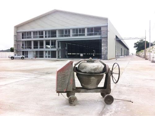 ขายโรงงานใหม่เอี่ยม  12 ไร่กว่า อยู่ ต .บ่อวิน อ.ศรีราชา จ.ชลบุรี