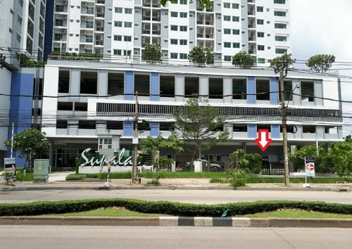 ให้เช่าร้านค้าในคอนโด Supalai city resort สถานีพระนั่งเกล้า-เจ้าพระยา ทำเลดี ติดถนนใหญ่