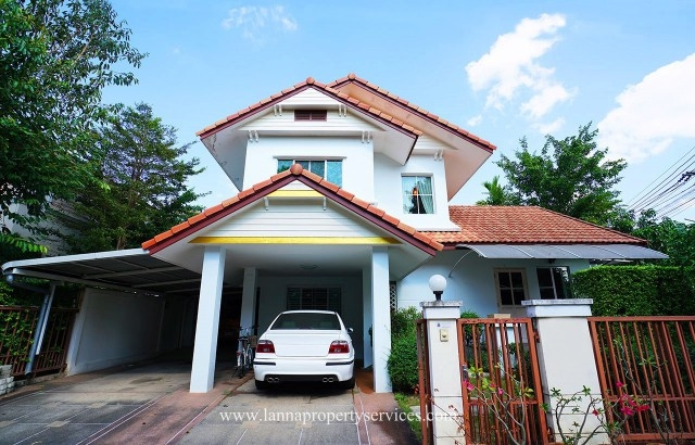 Furnished two houses for rent 7 bedrooms at Siwalee chiangmai.