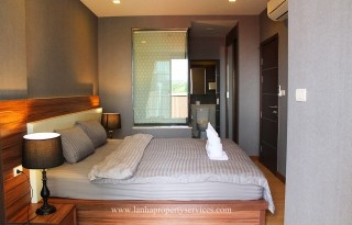 Luxury furnished condo in town on Changklan road Chiang Mai.