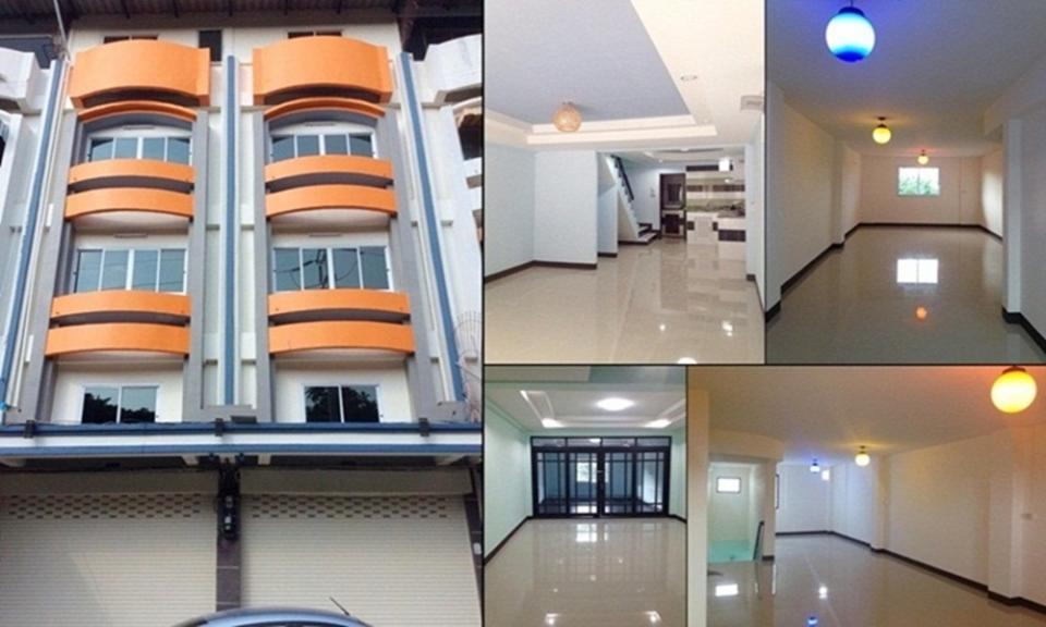 ขายอาคารพาณิชย์ 5 ชั้น 2 คูหา ข้างมหาวิทยาลัยนเรศวร