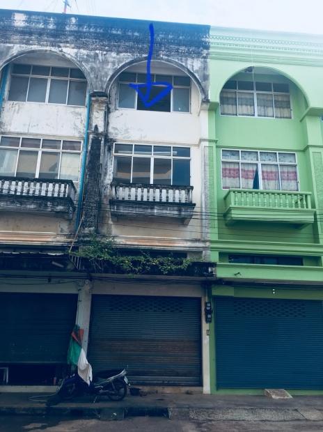อาคารพาณิชย์ 3 ชั้นครึ่ง ในเมืองจันทบุรี