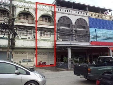 ขายอาคารพาณิชย์3ชั้นครึ่งในตัวเมืองระยอง
